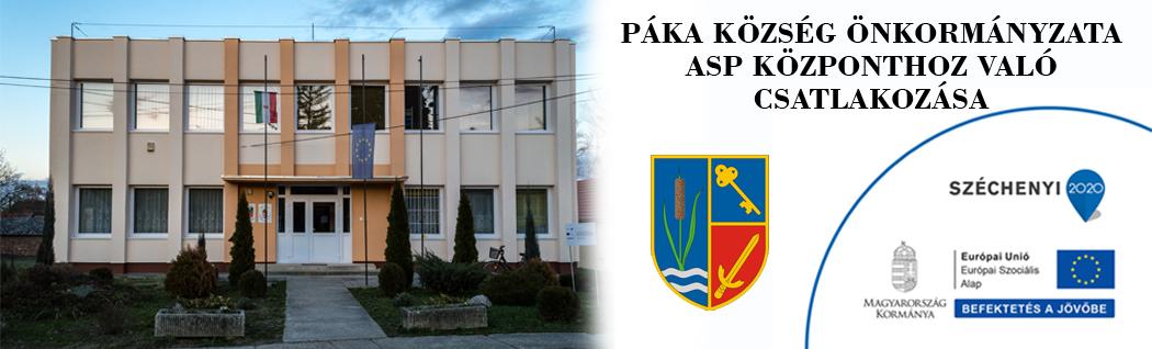 Páka község honlapja